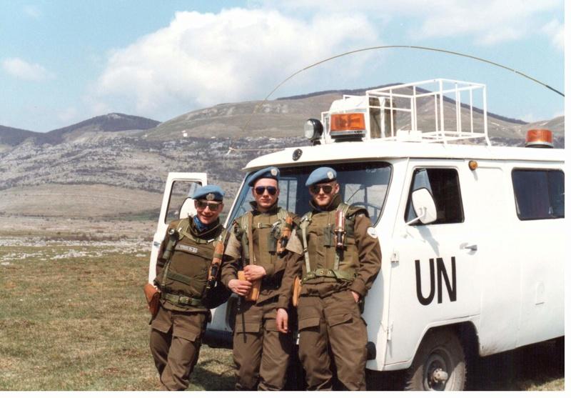 Bulletproof vest/Body armor used by Czechoslovakian/Czech forces in UNPROFOR mission 3010