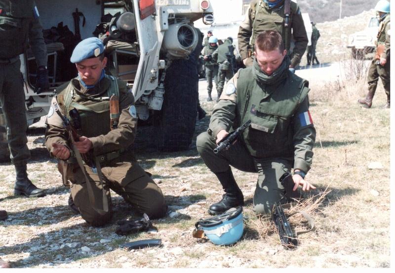 Bulletproof vest/Body armor used by Czechoslovakian/Czech forces in UNPROFOR mission 310