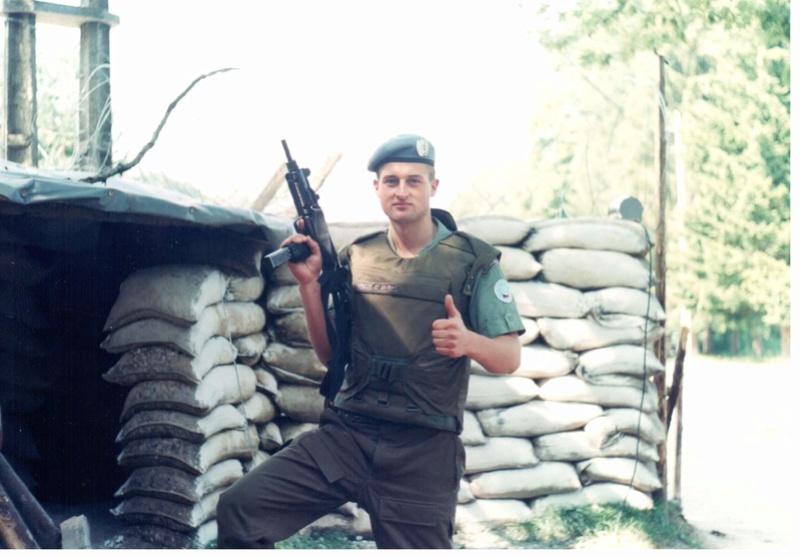 Bulletproof vest/Body armor used by Czechoslovakian/Czech forces in UNPROFOR mission 710