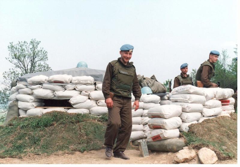 Bulletproof vest/Body armor used by Czechoslovakian/Czech forces in UNPROFOR mission 8910