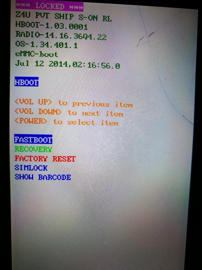 [AIDE] Bloqué sur écran blanc avec le logo HTC  Htc10