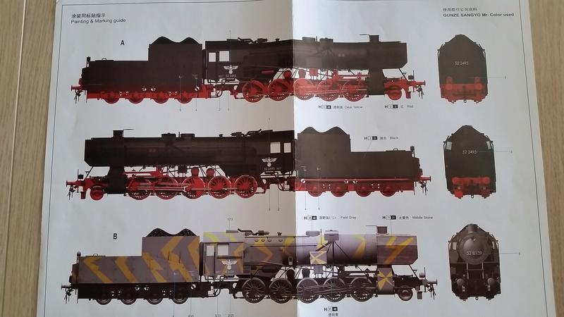Locomotive BR52 Trumpeter 1/35 20170616