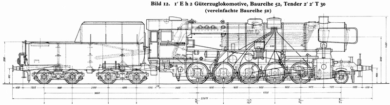 Locomotive BR52 Trumpeter 1/35 Plan_b10