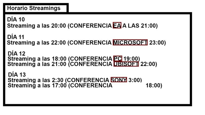 E3 2017 - PlaydevGames Horari10