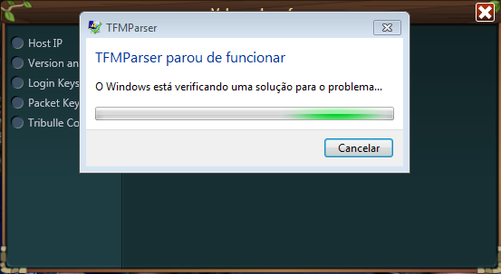 TFM Parser Beta Screen12