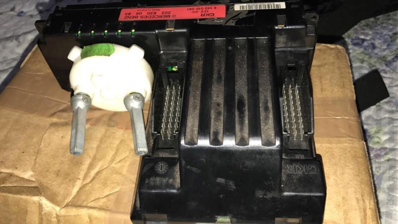 Comando do ar-condicionado W202 C220 1994 Image110
