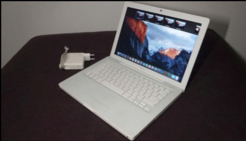 """VENDO  Macbook 13"""" 5,2 ( finales de 2009) 4GB Ram 128GB SSD Micron Captur26"""