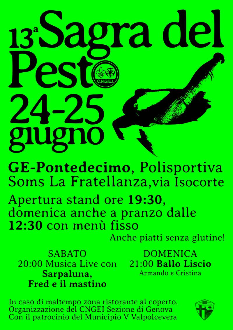 13° SAGRA DEL PESTO  Volant10