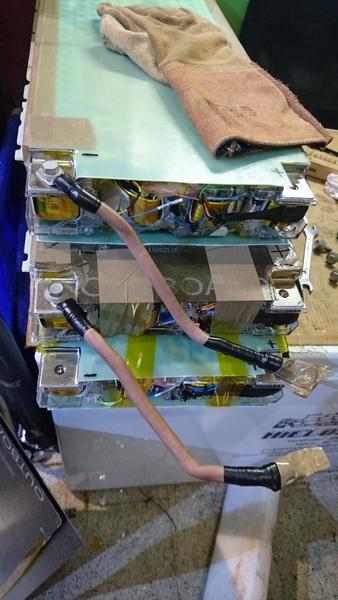 Conversión Vectrix VX1 con módulos Tesla. Dsc_1412