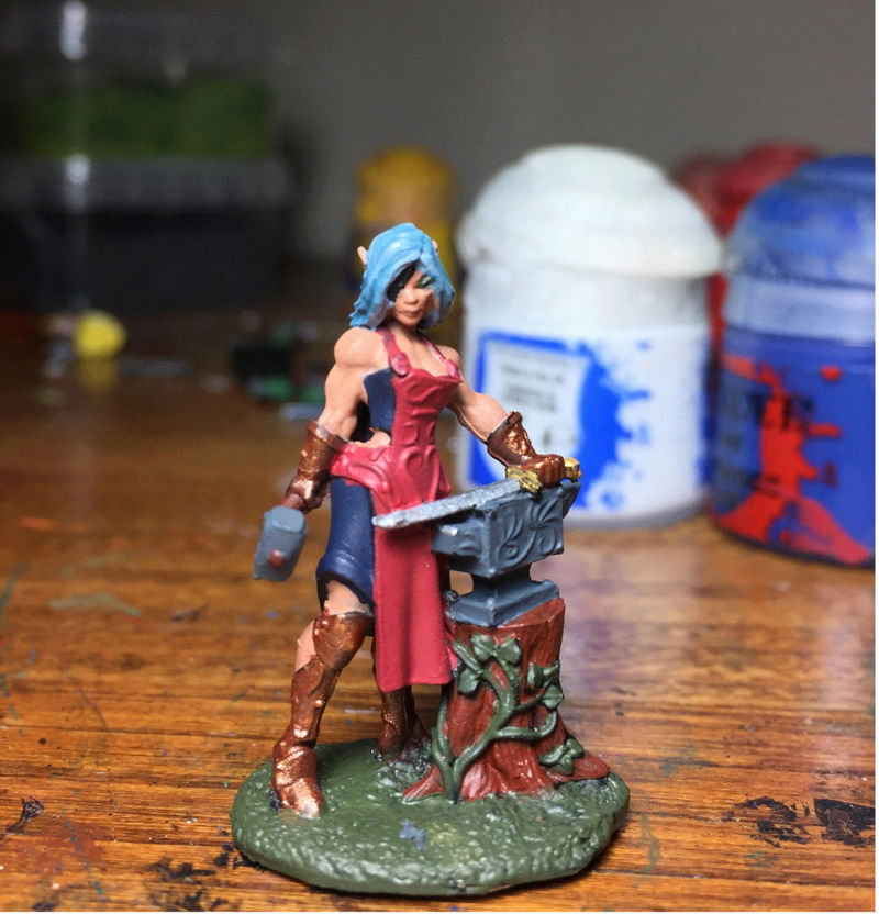 Painted My First Miniature Mini10