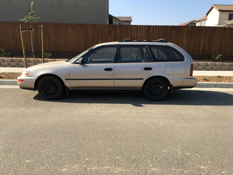 FS: 93 Toyota Corolla DX Wagon - 5 Speed Manual  Ae101s11