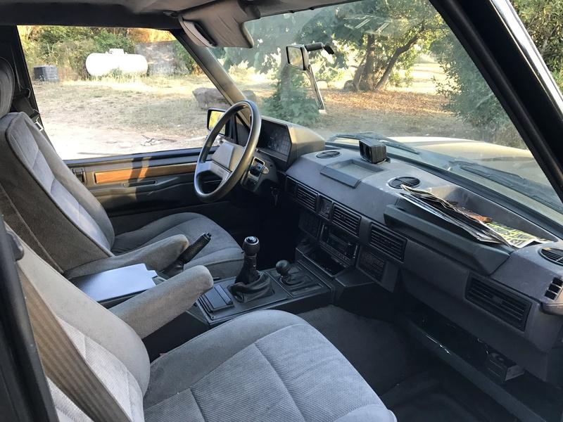 Mon tout premiere Range Rover Classic 2.5 td Img_3811