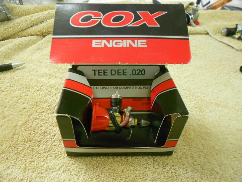 For Sale: Cox Tee Dee engines.  020, 049, 051 . Rat Race 049 reed valve - Norvell 061 Cox_0211