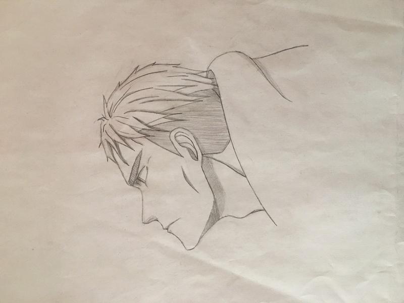 Petits dessins rarement finis Dessin11