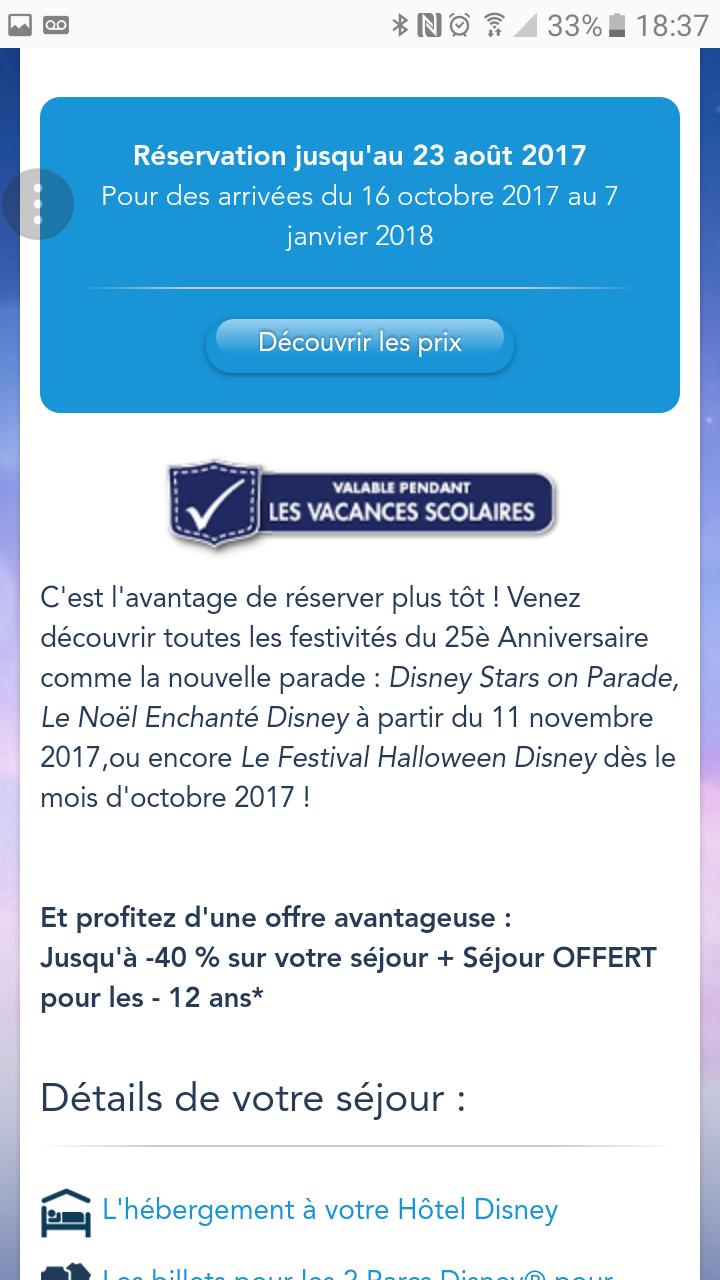 Organisation pour fêter Noël 2017 à Disneyland Paris (11 novembre au 7 janvier 2018)      - Page 2 Screen11