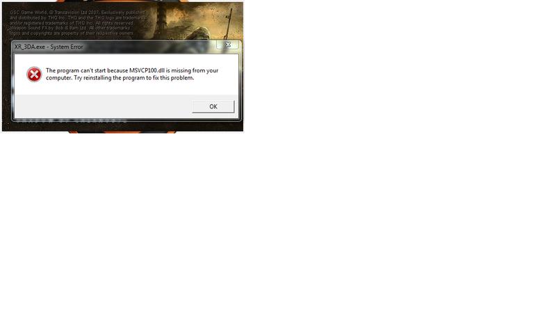 StalkerSoup installation problems... Error10
