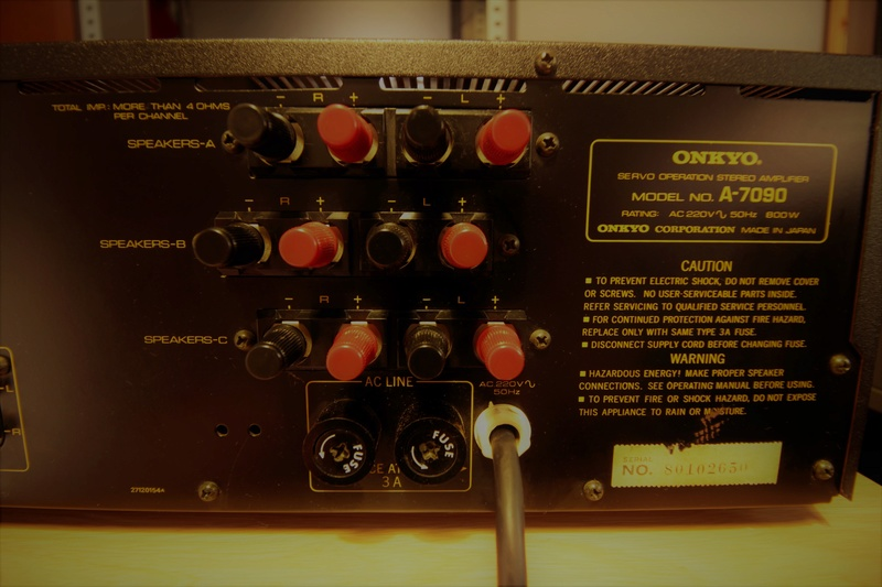 Onkyo A-7090 Super Servo Operation _mg_7017