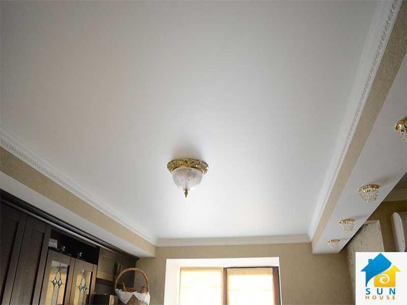 Тканевые натяжные потолки   Izea-z10