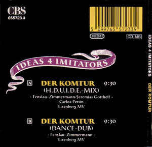 Ideas 4 Imitators - Der Komtur (1990) Maxi MiniCD Original R-595511