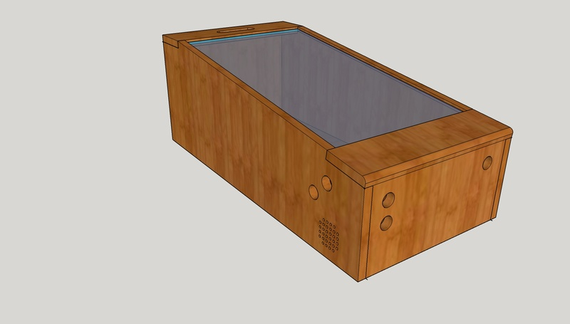 [WIP][8%] Minimalist mini-pincab en bois Pincab11