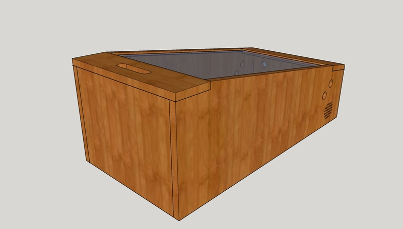 [WIP][8%] Minimalist mini-pincab en bois Pincab12