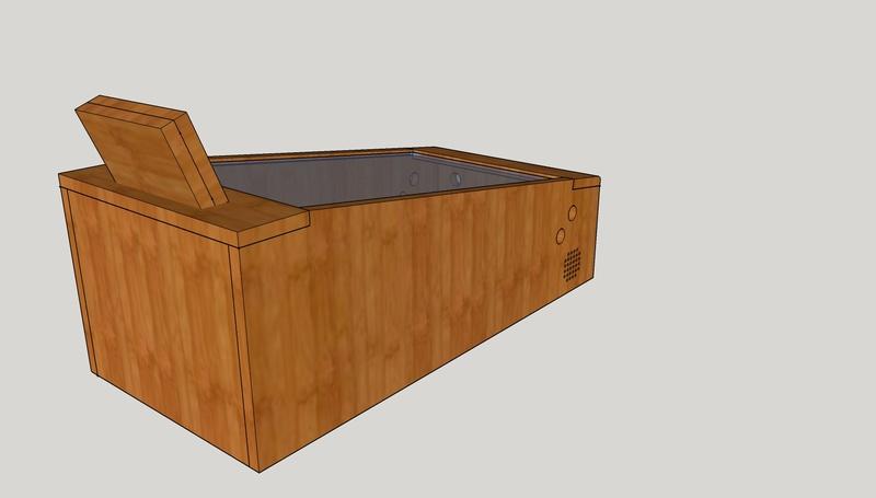 [WIP][8%] Minimalist mini-pincab en bois Pincab14