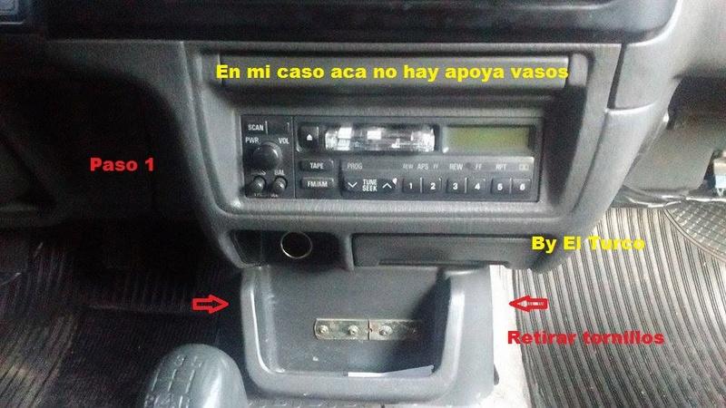 Como cambiar la radio de la L-200 mod 99 110