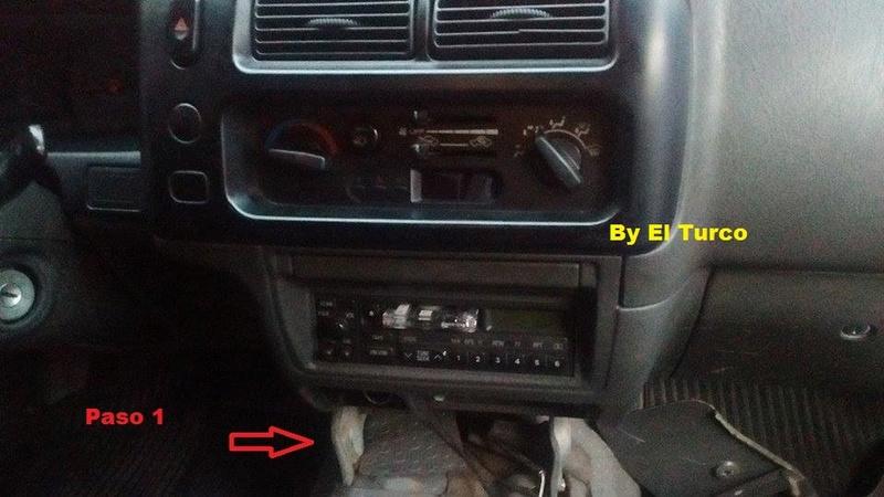 Como cambiar la radio de la L-200 mod 99 210