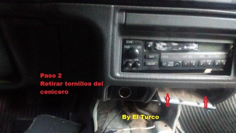 Como cambiar la radio de la L-200 mod 99 310
