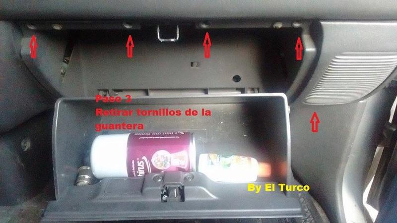 Como cambiar la radio de la L-200 mod 99 410
