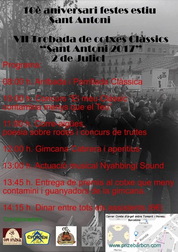 Trobada Sant Antoni, 2 de Juliol Cartel10