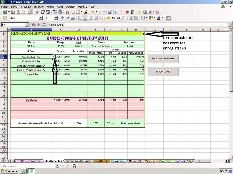 Appli et/ou site de gestion de test et recettes e-liquide ? - Page 2 Captur10