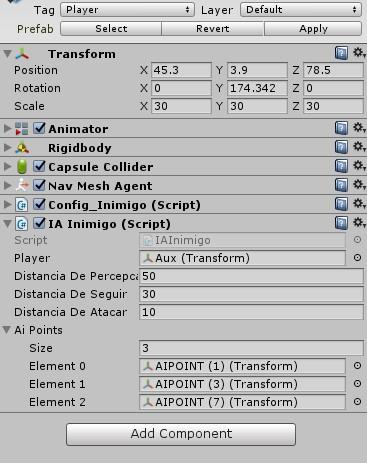 Parentear Objetos por script C# Inspec10