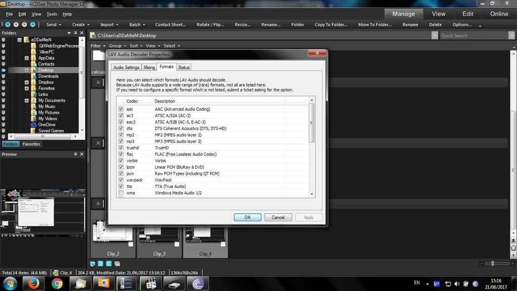 video stop after black screen ans after a few seconds it accelerates / Ryzen / x265 Clip_511