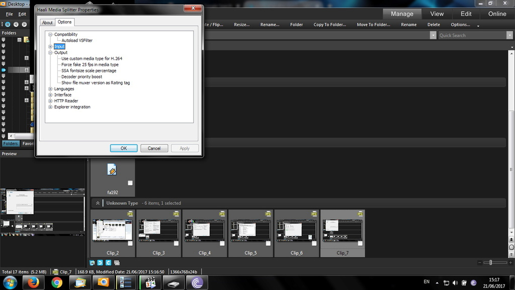 video stop after black screen ans after a few seconds it accelerates / Ryzen / x265 Clip_811