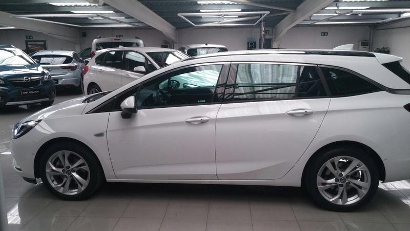 Presentación Astra ST k excellence 1.6 136cv auto blanco Img_1818