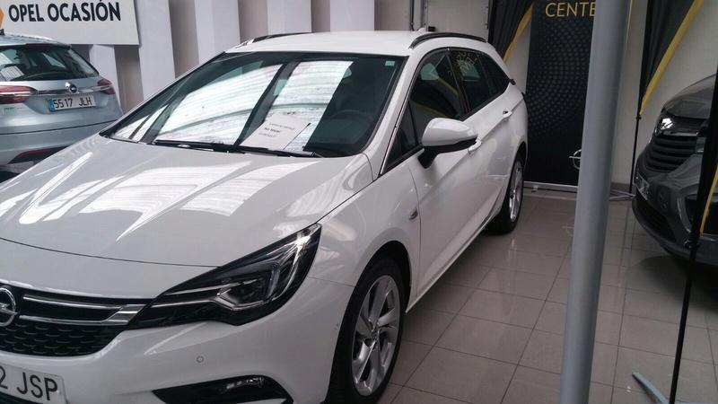 Presentación Astra ST k excellence 1.6 136cv auto blanco Img_1820