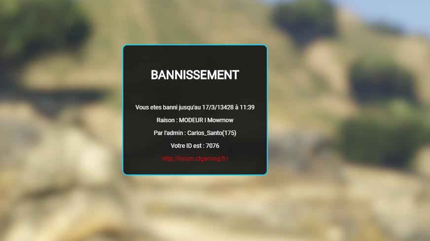 [Acceptée] ban erreur  Ban10