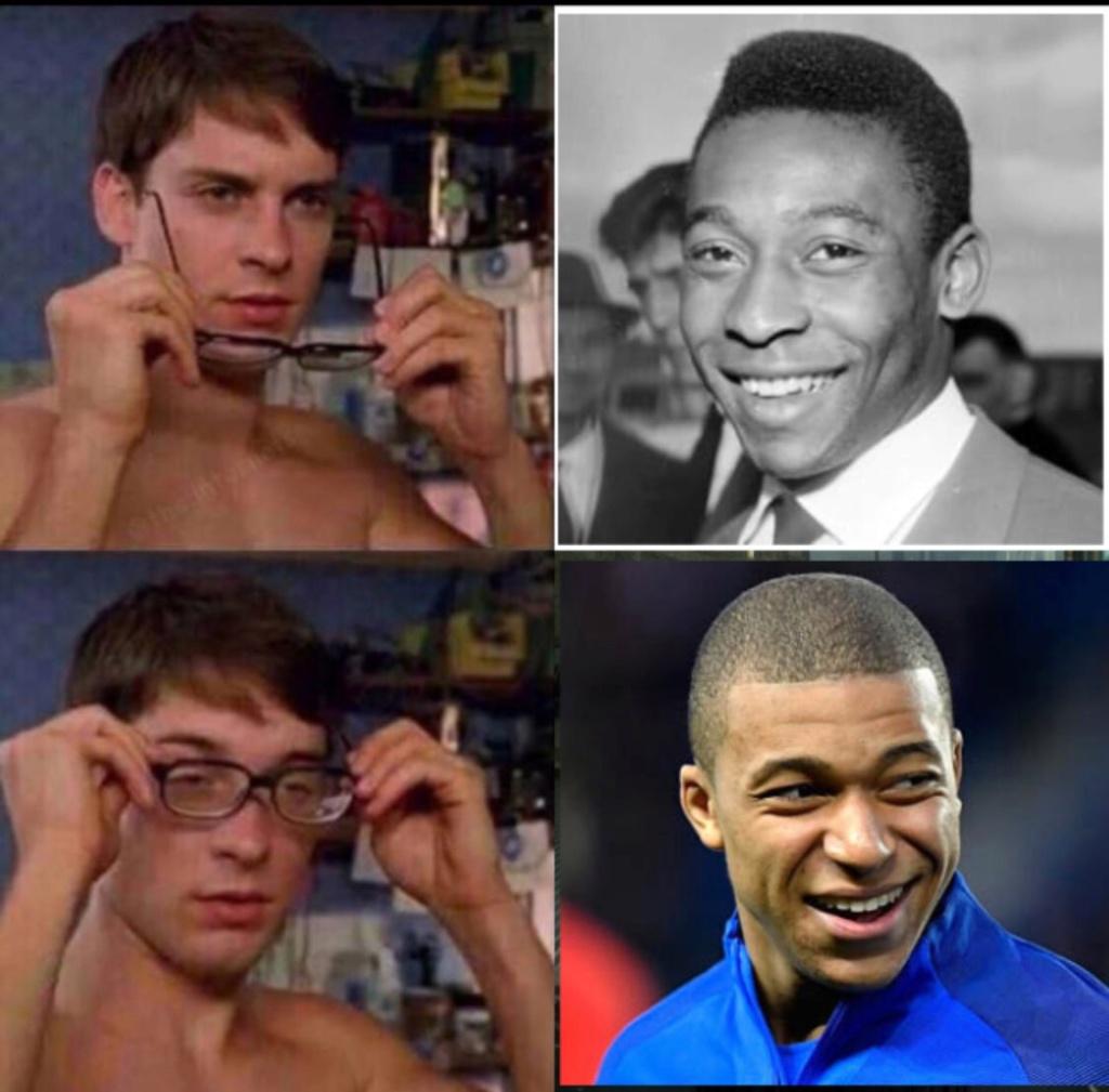 Memes de fútbol - Página 2 Mbappe10