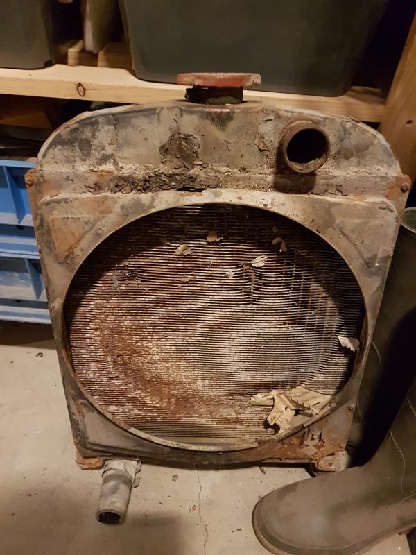 moteur - SOMECA SOM25E - Moteur et radiateur 20190919