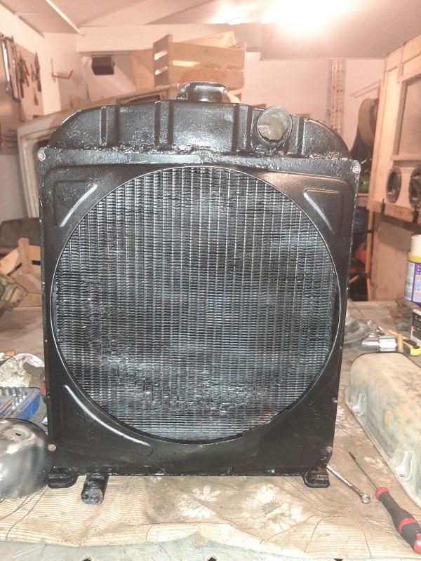 moteur - SOMECA SOM25E - Moteur et radiateur 20200336