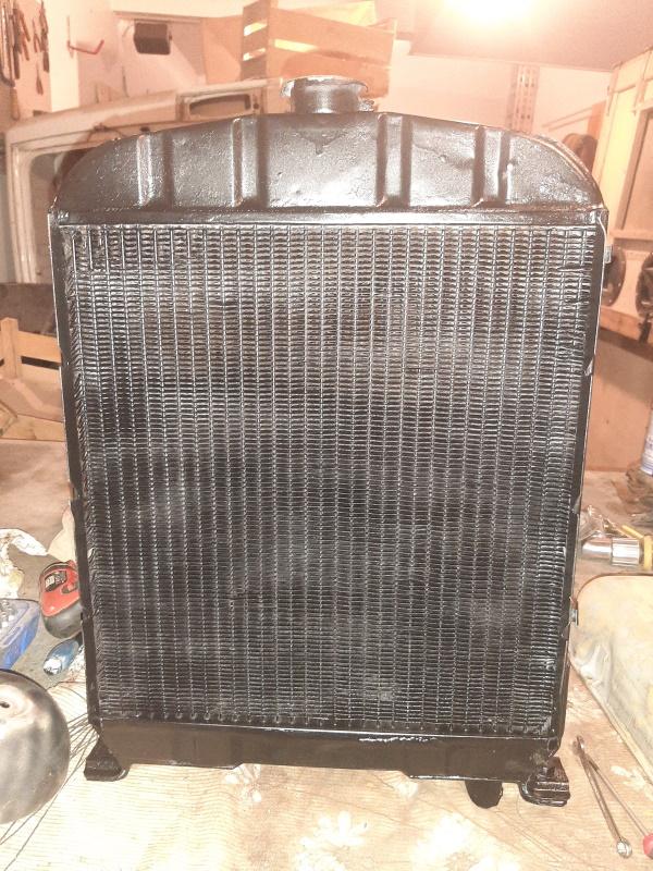 moteur - SOMECA SOM25E - Moteur et radiateur 20200337