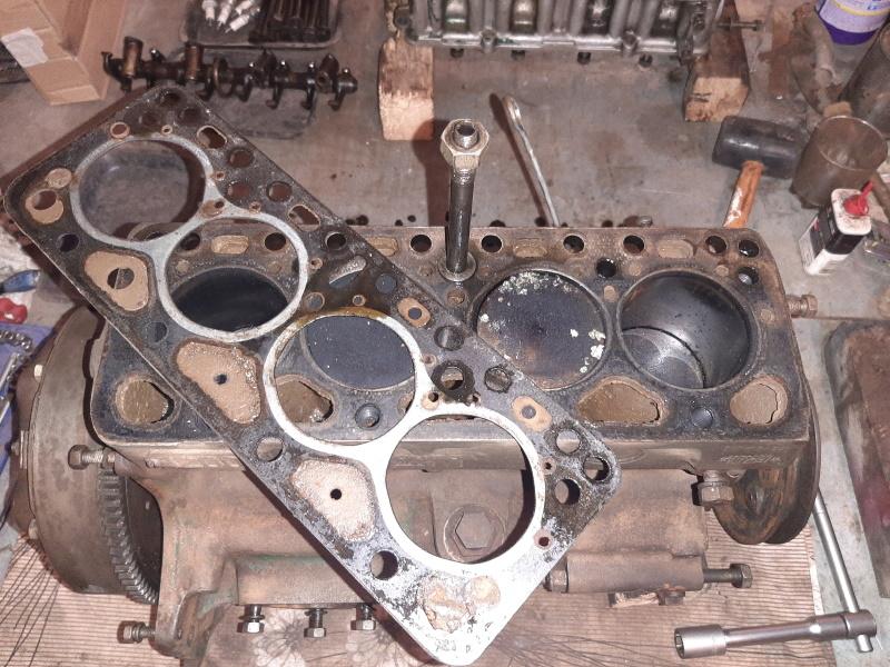 moteur - SOMECA SOM25E - Moteur et radiateur 20200341