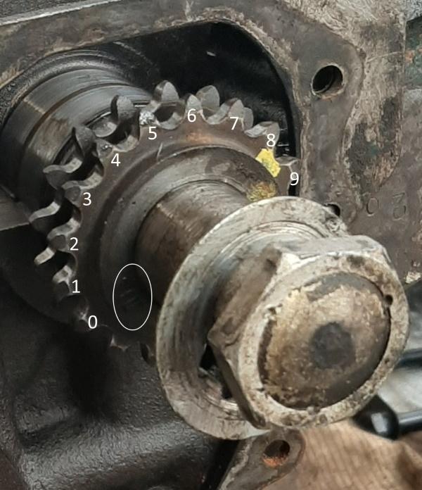 moteur - SOMECA SOM25E - Moteur et radiateur 20200347
