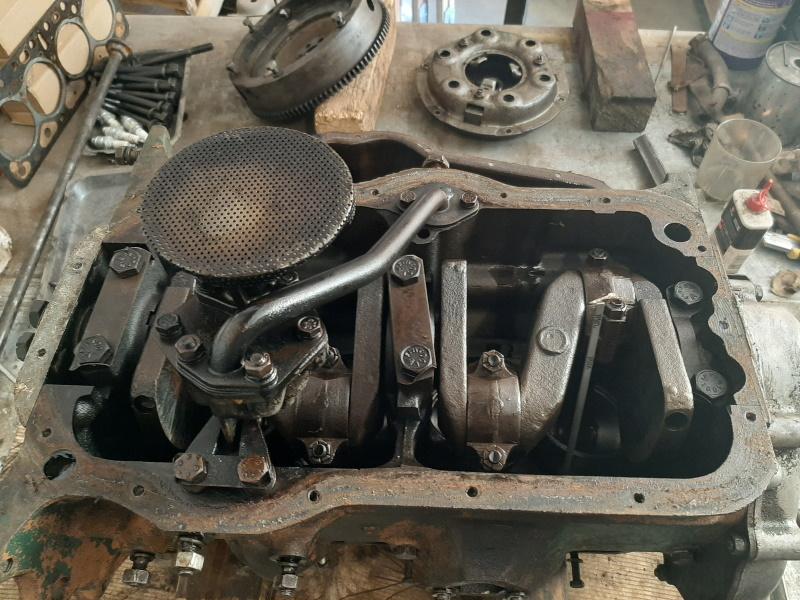 moteur - SOMECA SOM25E - Moteur et radiateur 20200348