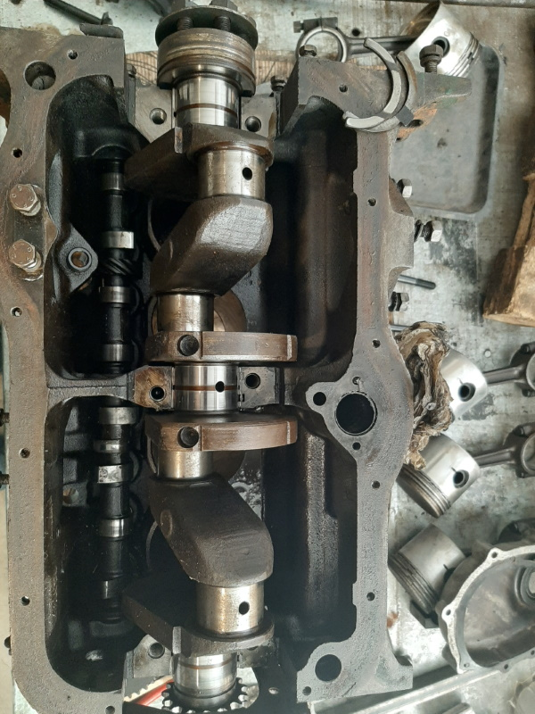 moteur - SOMECA SOM25E - Moteur et radiateur 20200350