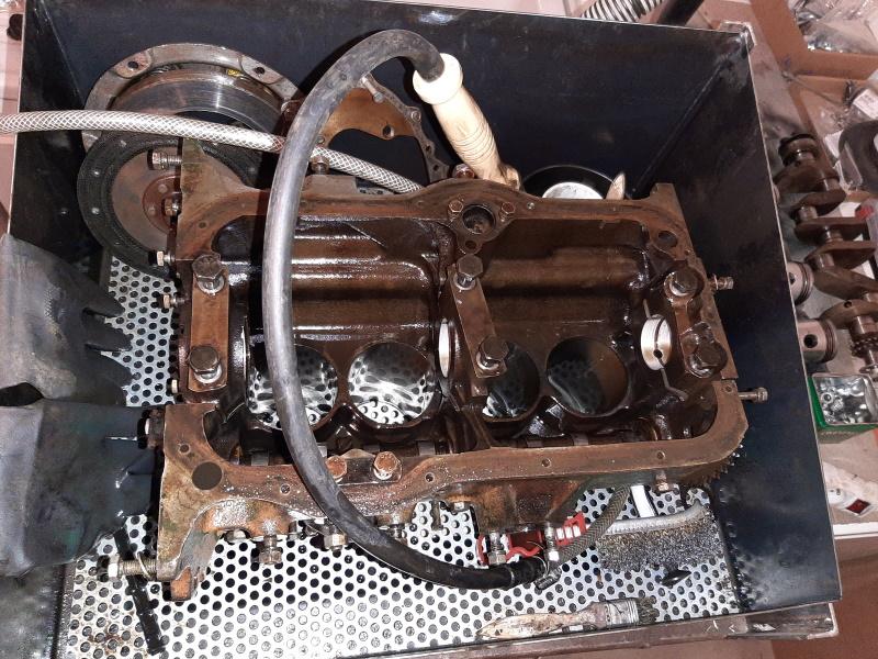 moteur - SOMECA SOM25E - Moteur et radiateur 20200356