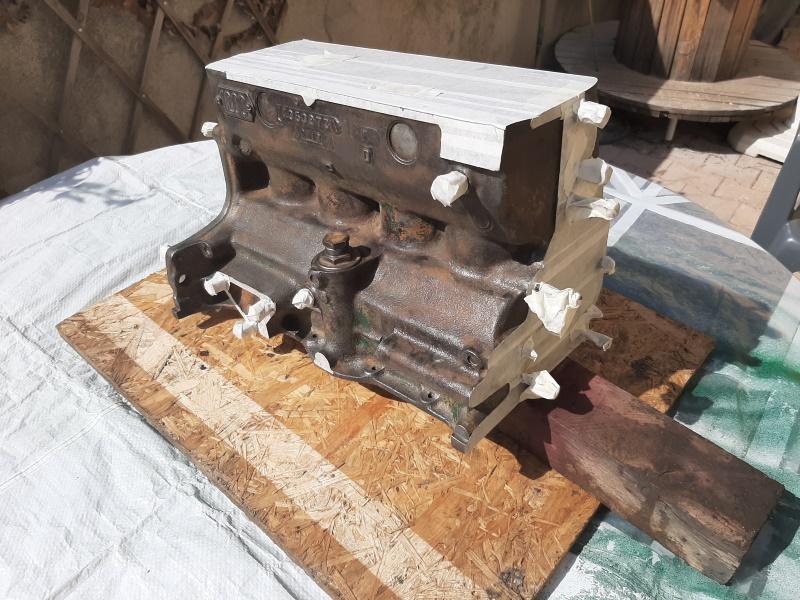 moteur - SOMECA SOM25E - Moteur et radiateur 20200368