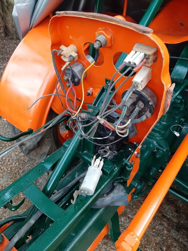 moteur - SOMECA SOM25E - Moteur et radiateur 20200373