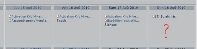 Activation Kilo Mike Août 2019 Activa11